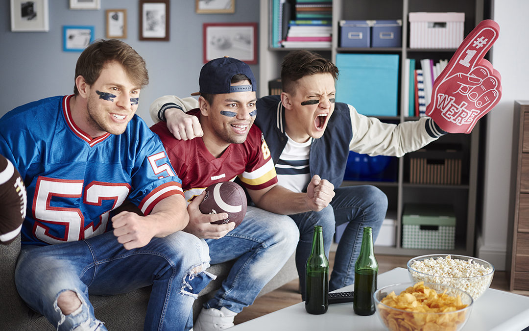 Will more consumers at home improve Superbowl ratings?